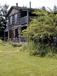 Robbins Crossing's Historic Log Homes Exhibit